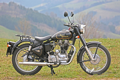 My Royal Enfield Bullet Austro Classic