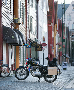 Meine Enfield in Bergen, Norwegen